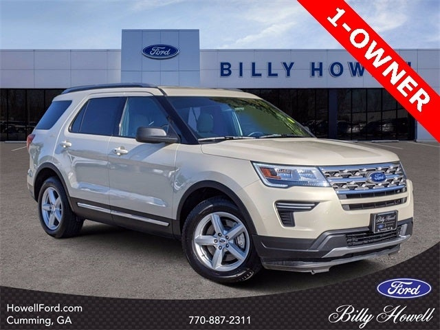 Ford Explorer Xlt In Cumming Ga Billy Howell Ford Lincoln